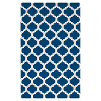 Casablanca Rug in Midnight Blue