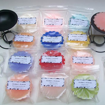 Scented Candle Tart Wax Melt Sampler 12 JUMBO Scented Candle Sampler 30 oz Variety Pack