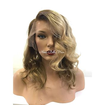 Sombre Balayage' Lace Front Wig - Miley