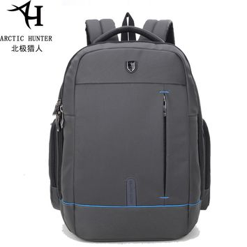 15.6 inch Men's Laptop Backpack Waterproof Nylon Backpack Business Travel Large Capacity Bagpack Teens