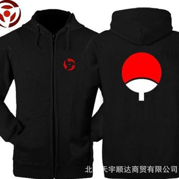 The new fall and winter clothes men sweater Naruto Sasuke Uchiha TuanShan jacket clothes sweatershirt