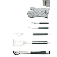 Cubo BBQ Set in Apron (9 PC)