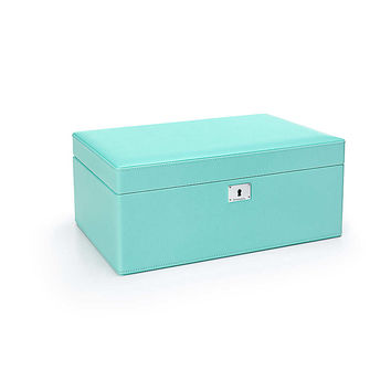 Tiffany & Co. - Jewelry box in Tiffany Blue® leather, large. More colors available.