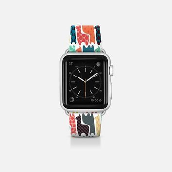 baby llamas Apple Watch Band (38mm)  by Sharon Turner | Casetify