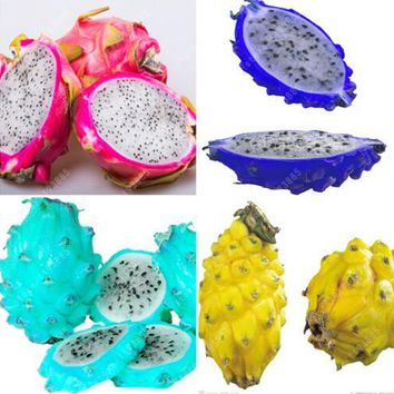 200pcs/bag rare dragon fruit seeds, pitaya fruit seeds, very sweet delicious fruit seeds for home garder plant pot