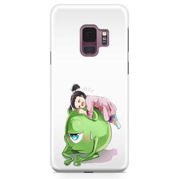 Monster Inc Cute Mike And Boo Samsung Galaxy S9 Case | Casefantasy