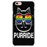 LGBT iPhone Case Rainbow Purride Cat