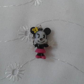Disney cutie  Minnie  Mouse  charm pendant, ornament figures figure