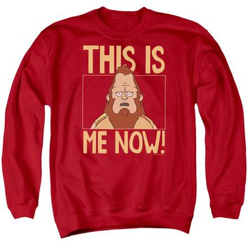 Bobs Burgers - This Is Me Adult Crewneck Sweatshirt