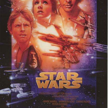 Star Wars Episode IV A New Hope Poster 22x34