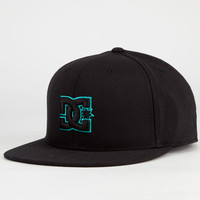 Dc Shoes Take That Mens Hat Black/Blue  In Sizes