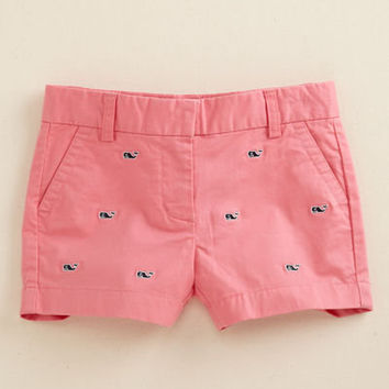 Girls Shorts: Casual Embroidered Boulevard Shorts for Girls – Vineyard Vines
