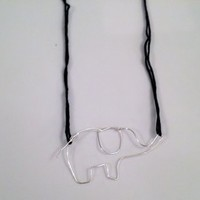 Elephant Necklace from My Friends Closet