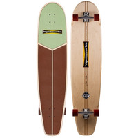 "HAMBOARDS HUNTINGTON HOP LONGBOARD MINT CHOCOLATE 45"" X 10.58"""