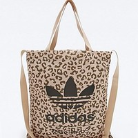 Adidas Originals Leopard Tote Bag - Urban Outfitters