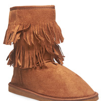 Boho Fringe Cozy Boots | Wet Seal