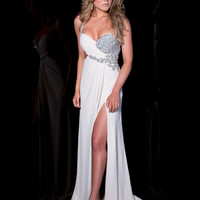 Purple Jasz Couture Prom Dress 4815