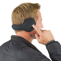 The Wireless Speaker Ear Warmers - Hammacher Schlemmer