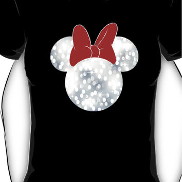 Sparkle Minnie Mouse Women's T-Shirt