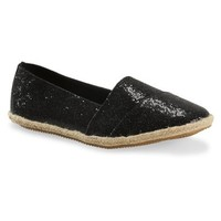 Glitter Canvas Slip-On