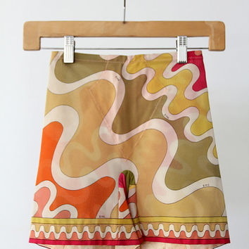 1960s Pucci Girdle / Vintage Pucci Form Fit Rogers Shorts