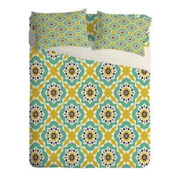 Heather Dutton Mattonelle Sheet Set Lightweight
