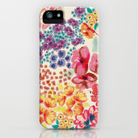 Flowers iPhone & iPod Case by Moniquilla