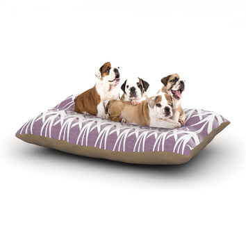 "Alison Coxon ""Arrow Lavender"" Dog Bed"