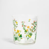 Floral design glass - Glassware - Tableware | Zara Home United Kingdom
