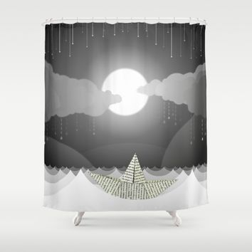 Dream Sea Shower Curtain by Dood_L