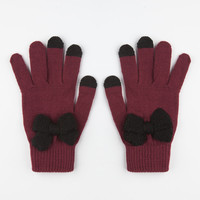 Bow Front Tech Glove 245148320 | Gloves