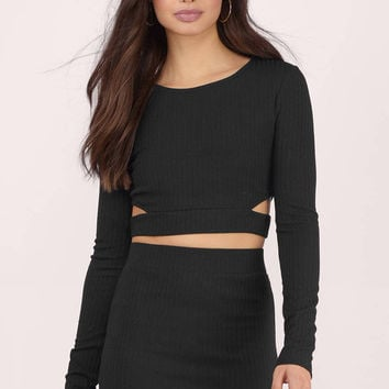 Rib Me Down Crop Top