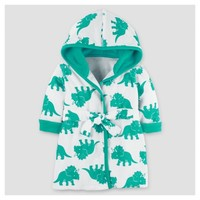Baby Boys' Dinosaur Robe - Just One You™ Made by Carter's® Teal