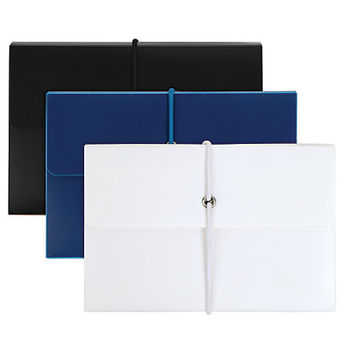 Office Depot® Brand Poly Index Box With Cards, Assorted Colors Item # 757404