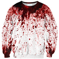 Blood Splatter Sweater