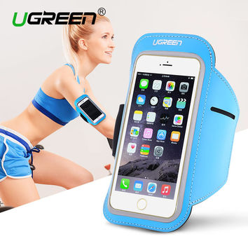 Ugreen Universal Arm band Case for iPhone 7 6s 5 5S Running Sport Cover Holder for Samsung Galaxy Huawei Cycling Case Cover