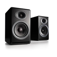 Audioengine: P4 Passive Bookshelf Speakers - Black (AP4B)