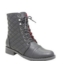 Once Upon A Time Emma Quilted Combat Boots