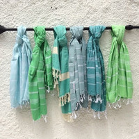 Hammamas Original Cotton Beach Towels