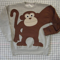 NeW MONKEY AROUND sweatshirt sweater jumper KIDS your choice of size and color