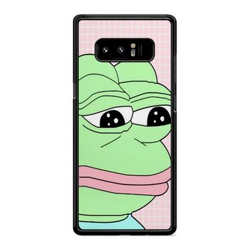 Aesthetic Pepe Frog Samsung Galaxy Note 8 Case
