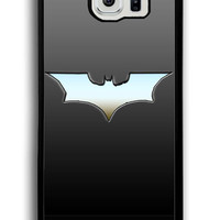 Batman Logo Funny for Samsung Galaxy S6 Hard Cover Plastic