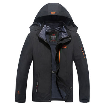 Newest design Man's Pizex Waterproof Windproof Warm Coat Jacket Jacket Men Pizex Large Size Hooded Jackets Casual Loose Jackets