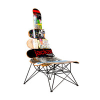 The Mini-Beast / Chair / Skateboard furniture/ SOLD
