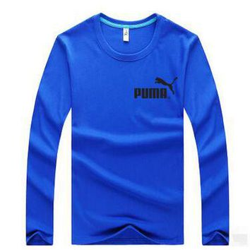 PUMA Casual Long Sleeve Top Sweater Pullover