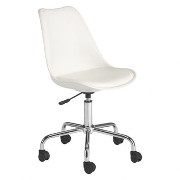 GINNIE White office chair | Buy now at Habitat UK