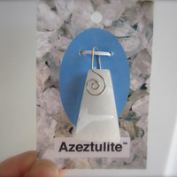 Super-Activated Azeztulite Crystal Pendant