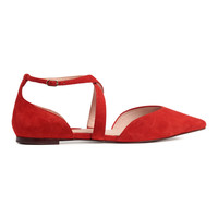 H&M Suede Flats $59.99