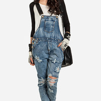 DailyLook: One Teaspoon Cobain Awesome Overalls