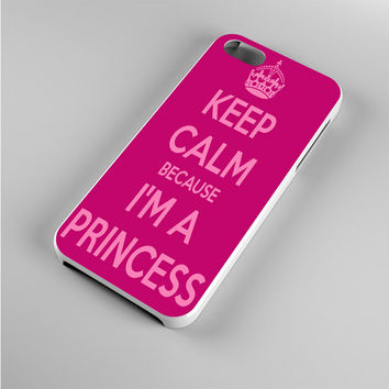 Keep calm and be a princess Iphone 5s Case